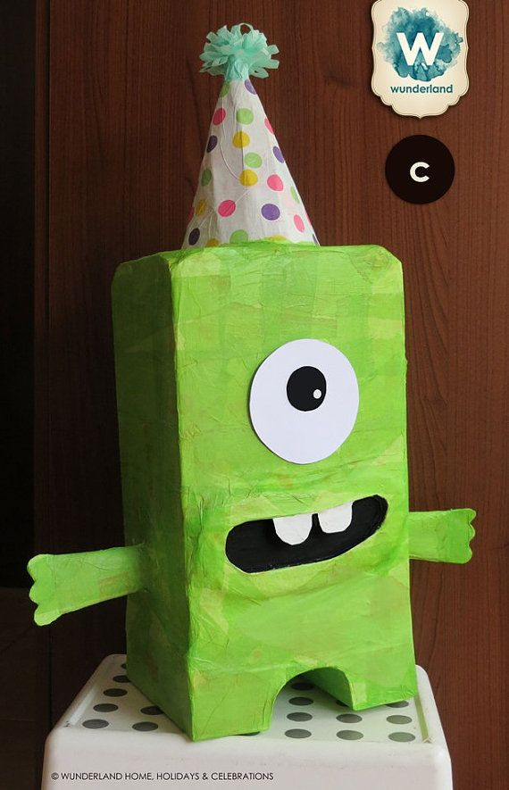Monster Pinata Made to Order by wunderlandhome on Etsy