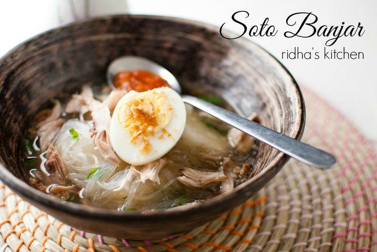 Indonesian soup - soto banjar // ridha's kitchen