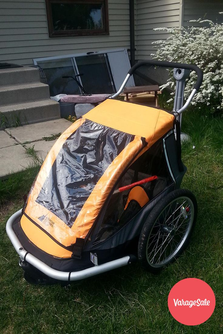 Mountain Equipment Coop baby Chariot. This stroller is it