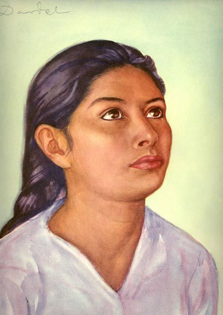 Nils von Dardel - Mexican Girl 1940