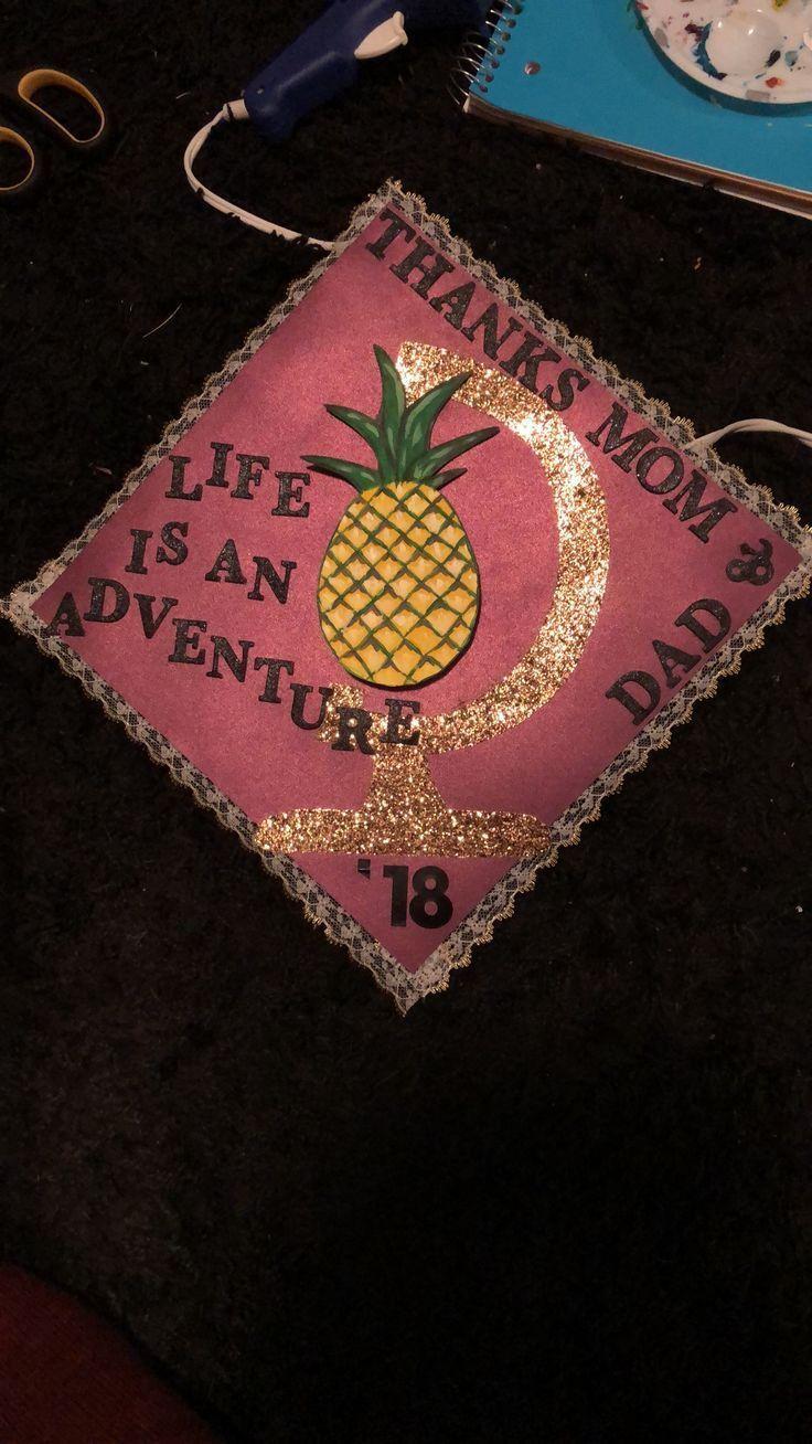 Hospitality and Travel themed Graduation Cap – #graduation #hospitality #themed #travel – #DecorationGraduat