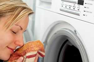 Fuel smells in laundry: For when ben comes home smelling like a tanker truck