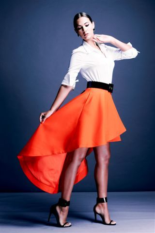 Still a best seller! Our Skirt has got heads turning - find it in all colours and prints! #drepublicstyle