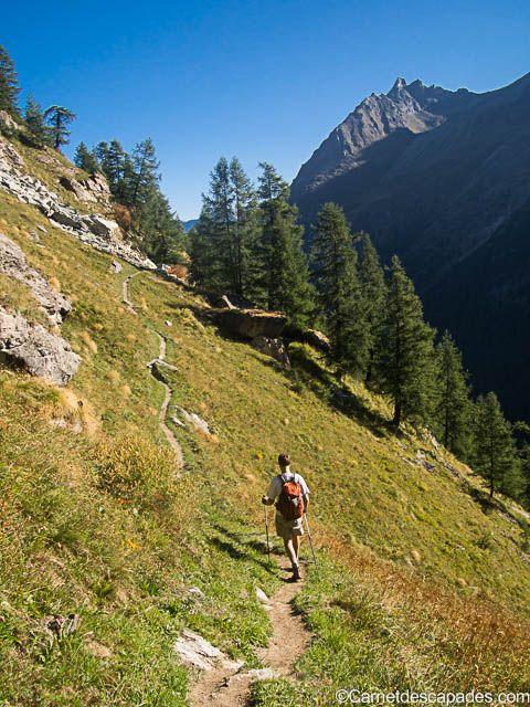 Randonnée en Suisse - Tour du Val d'Hérens - Carnet d'escapades