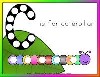 C is for Caterpillar {Letter of the Week, Confessions of a Homeschooler}