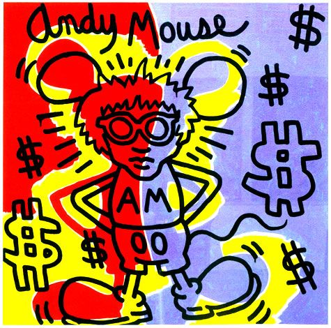 12 best keith haring au mam de paris images on pinterest - Keith haring shower curtain ...