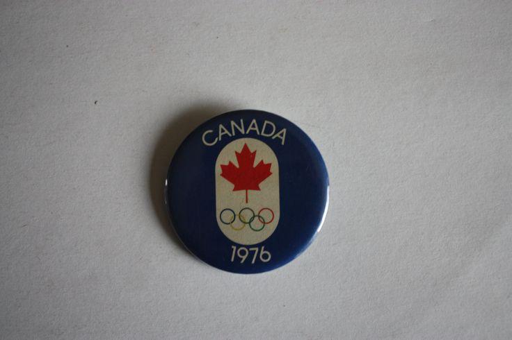 Jeux olympiques 1976 Montréal Canada Vintage Pi par BabisTreasures