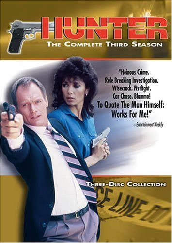 "Hunter - Created by Frank Lupo.  With Fred Dryer, Stepfanie Kramer, Charles Hallahan, Perry Cook. Detective Sergeant Rick Hunter and his partner, Sergeant Dee Dee McCall, are homicide investigators with the Los Angeles Police Department. Often they must go undercover to catch a variety of L.A.-style villains. ""Sporty"" James, a helpful police-informant, occasionally provides a bit of humor in this action-drama T.V. series."