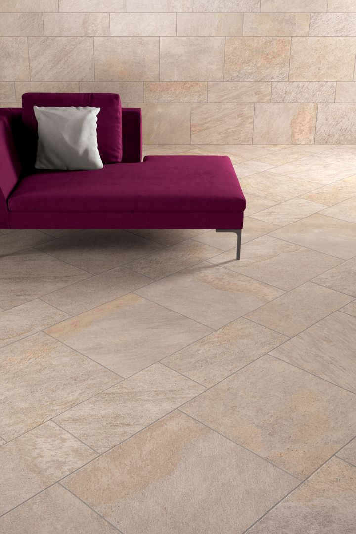 IneOut collection Percorsi Quartz Sand. Keramische tuintegels, keramiek terrastegels #tuintrend 2014