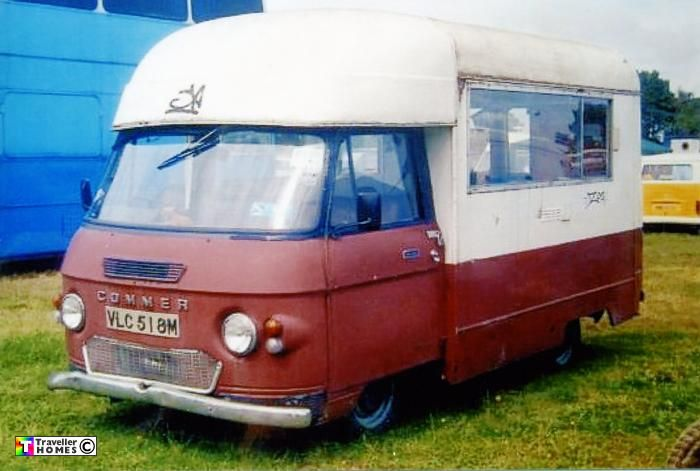 1973 Commer PB Bluebird Highwayman
