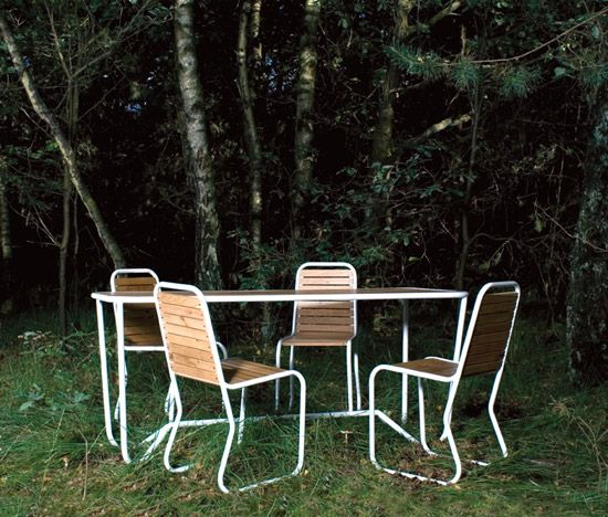 Design Tuintafel R 112 Ontwerper Dave Keune | Dutch Design Bij Tafel Design.