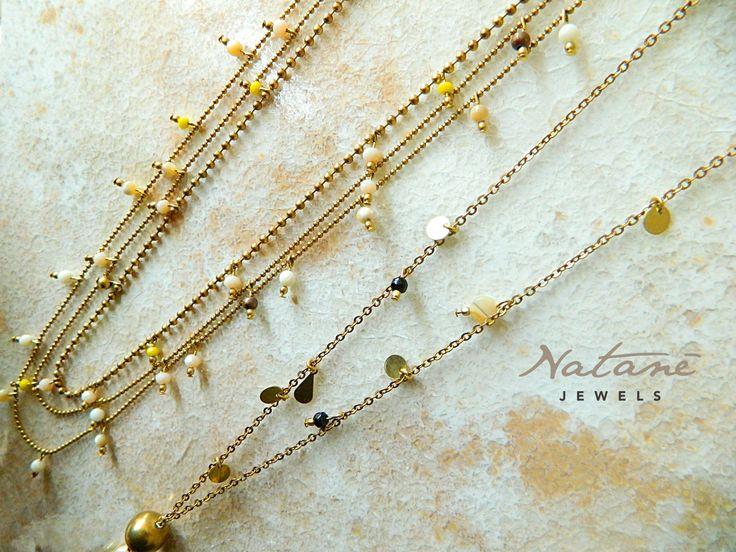 Natanè necklaces. #Natanè #necklaces #jewels #bijoux #collane #