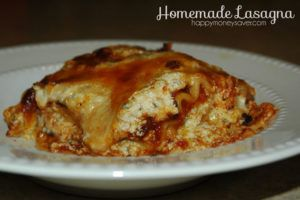 Easy Lasagna Recipe - Homemade and Freezer Meal Friendly