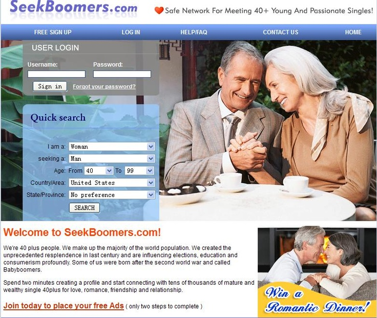 boon senior dating site Senior dating site reviews many people find it hard to find that special person that they can form a lasting relationship with whether you're a young professional or a senior citizen, finding the right person means opening yourself up to situations where you're more likely to find your ideal mate.