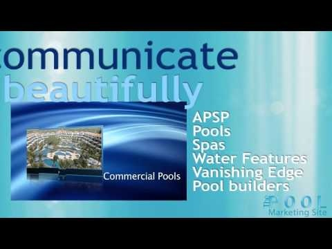 """Are you a pool professional asking, """"what will social media do for me and my company?"""" We have an educational video for you. Watch and learn how social media helps your company's Internet presence."""
