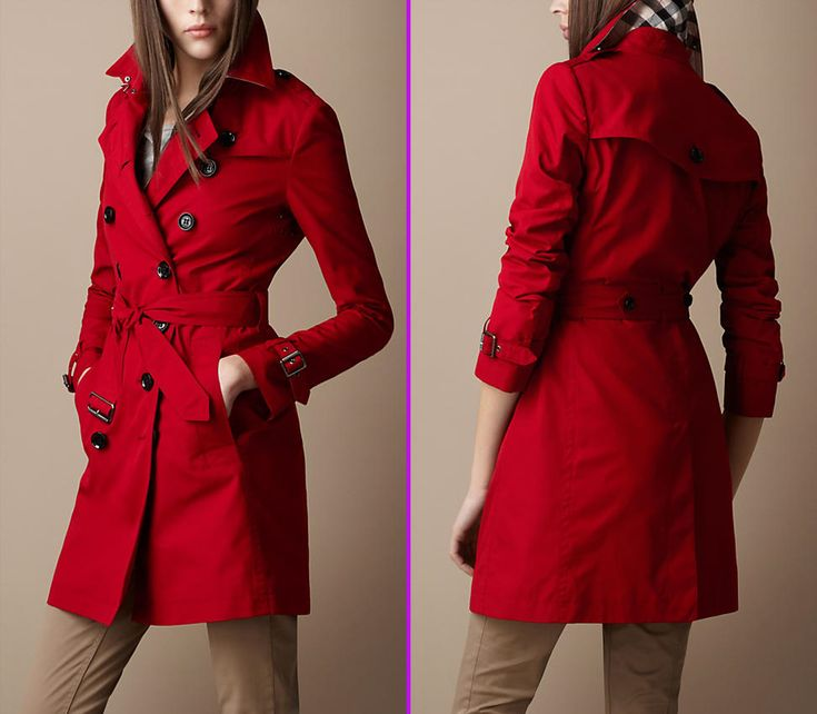 trench coat women | trench Coat by Burberry as Fashion Collection 578x504 Cotton Trench ...