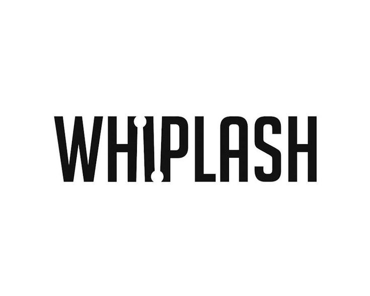 #verbicon #whiplash #film Famous Movie Titles Written Using Negative Space – Fubiz Media