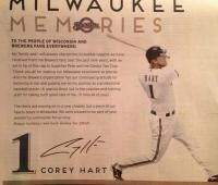 Corey Hart takes out newspaper ad to thank Brewers fans.....always a class act
