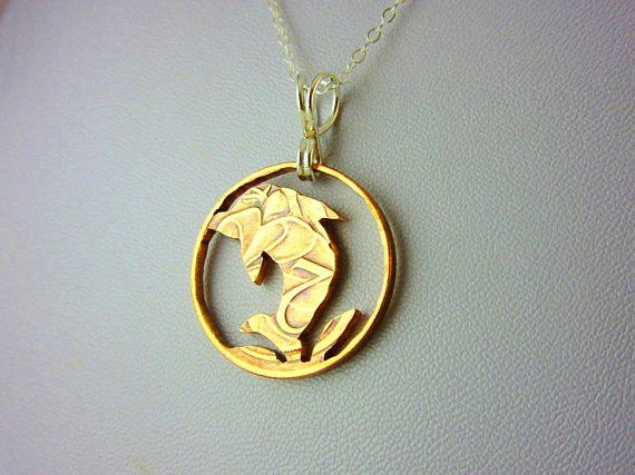 Hey, I found this really awesome Etsy listing at https://www.etsy.com/listing/545268041/dolphin-pendant-necklace-coin-cut-out