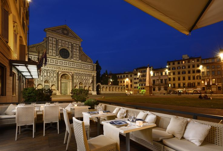 Gorgeous view from the Grand Hotel Minerva located in Florence, Italy.