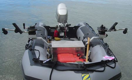 A Collapsible Inflatable Fishing Boat Is Adaptable To Many Types Of Fishing