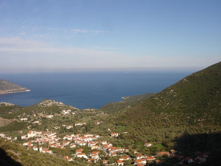 view to Kyparissi