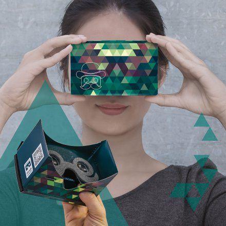 Virtuelle 3D Smartphone Brille von MR.CARDBOARD jetzt im design3000.de Shop kaufen! Tauchen Sie jetzt ab! Virtuelle Realität für Ihr Smartphone -...