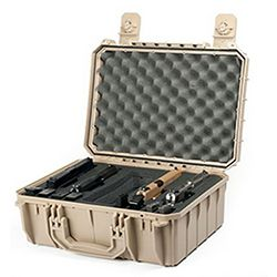 Seahorse SE630FP4 Waterproof Protective Pistol Case at Seahorse Protective Equipment Cases  Made in USA...little more reasonable than Pelican too.