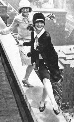 flappers on roof