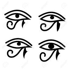 Resultado de imagen para simbolos egipcios con color