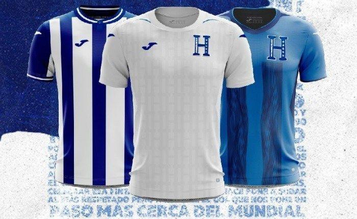 Honduras 2019 Joma Kits Football Fashion Org Joma Honduras Vertical Stripes