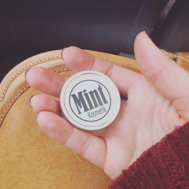 Allzweckbalsam für die kalten Tage   Jetzt auf mint-kosmetik.ch
