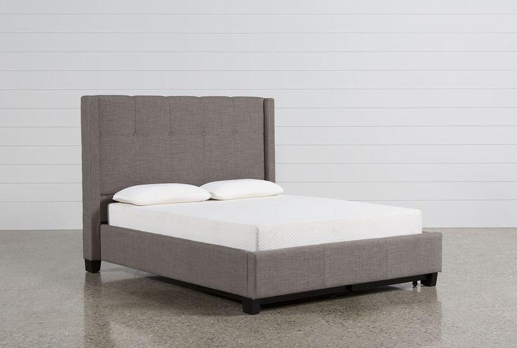 Damon II Full Upholstered Platform Bed - 360