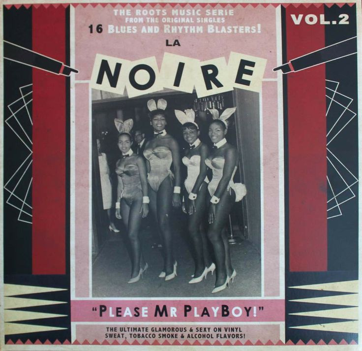 La Noire Vol.2 LP - Please Mr Playboy!