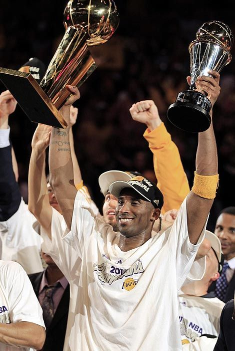 Kobe Bryant NBA Finals MVP Los Angeles Lakers NBA Champions