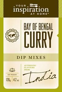 Bay Of Bengal Curry Dip Mix #yiah #dip  A unique curry blend packed with flavour and perfect for dips, sauces and curries. Spice up chicken, potatoes and eggs. This smooth curry is delicious when mixed into an apricot chicken, roast pumpkin soup or for a delicious chicken(or vegetarian) curry pie.
