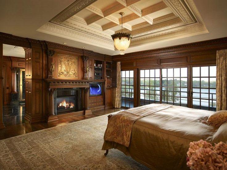 Amazing master bedroom i love all the wood i could for Amazing master bedrooms