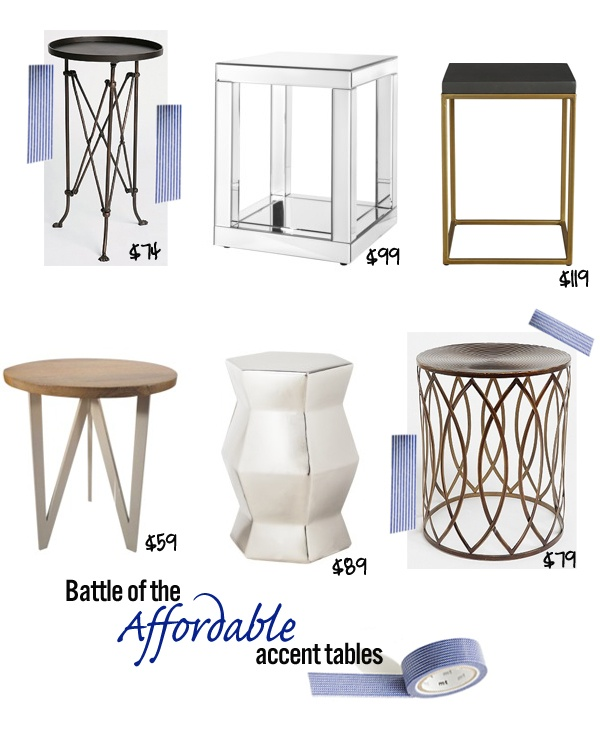 Mimosa Lane: Cute And Affordable Accent Tables