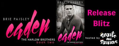 Caden by Brie Paisley Release Blitz    IT'S LIVE!  Photograph by Christopher Correia from CJC Photography  Cover Model: Jonny Sobel  Cover Model: Alli Theresa  Cover designer: Rebecca Pau from The Final Wrap  Caden  I knew she was the one the moment I laid eyes on her.  Shes everything Ive ever wanted and I never dreamed of finding her in my hometown. Savannah Owens seems lost and wants to find a place where she feels as if she belongs. What she doesnt realize is shes already found it. When…