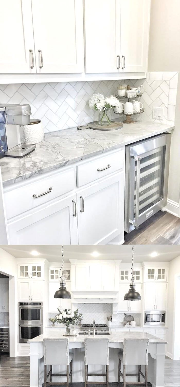 Looking For Ideas For White Kitchen Check Out These Awesome White Kitchen Cabinet Decor Idea In 2020 Kitchen Remodel Small Kitchen Cabinets Decor White Kitchen Design