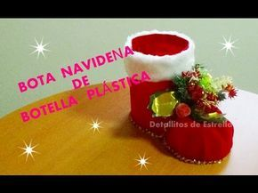 PORTA VELAS CON BOTELLAS DE COCA COLA. DECORACIONES NAVIDEÑAS, CHRISTMAS DECORATIONS. - YouTube