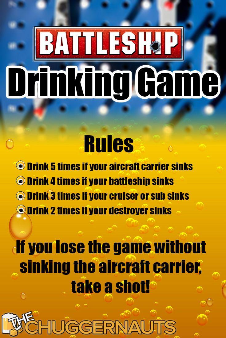 Battleship Drinking Game in 2020 Drinking games, Battle
