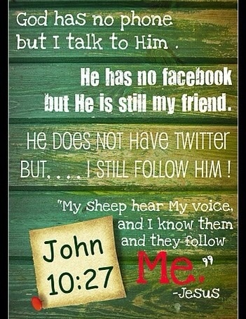 Follow Christ, Not the world!