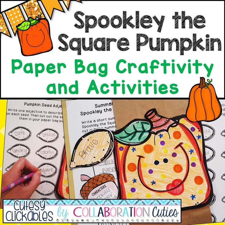10+ Spookley the square pumpkin craftivity info