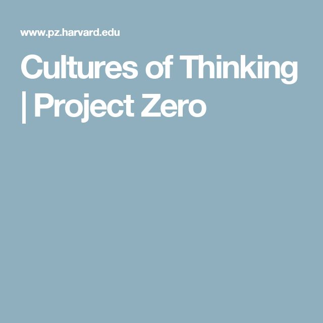 best Cultures of Thinking images on Pinterest