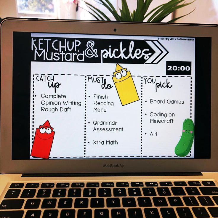 20 minutes of ketchup and pickles time on a Friday is a MUST! My students love h…