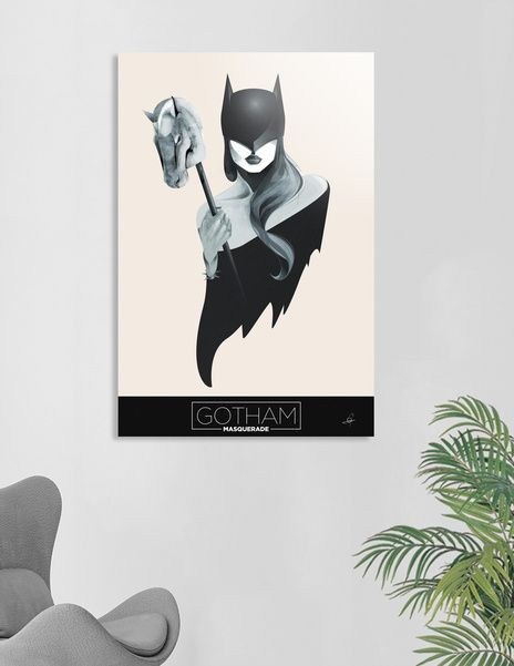 Discover «Gotham Masquerade I», Numbered Edition Acrylic Glass Print by Cristina Stefan - From $75 - Curioos