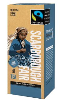 Scarborough Fair - Earl Grey Tea.  Check this and heaps more #Fairtrade products out here: http://fairtrade.org.nz/en-nz/buying-fairtrade-products #tea
