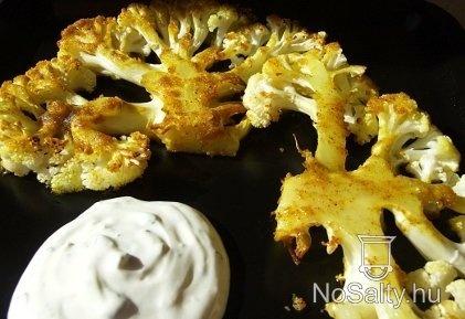 Sütőben sült fűszeres karfiol