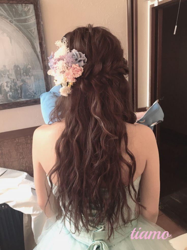 CUTEな花嫁さまの柔らか2スタイル♡リハ篇 の画像|大人可愛いブライダルヘアメイク 『tiamo』 の結婚カタログ